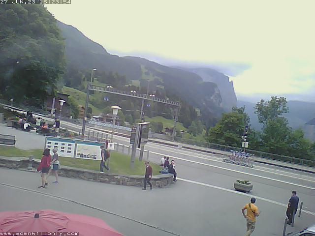 Livecam aus Wengen Dorf